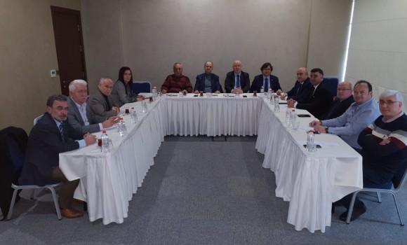 Marmara Gazeteciler Federasyonu Edirne'de Toplandı